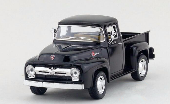 1:38 Scale Ford F100 Pick Up 1956 Metal Diecast Models Car Toy