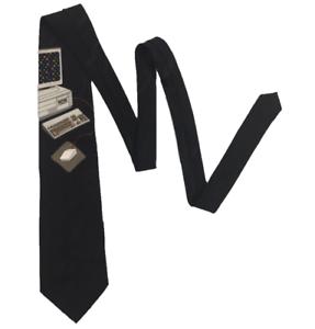 VICKY-DAVIS-Mouse-Trap-Men-039-s-Tie-Computer-With-3D-Mouse-Length-150-cm