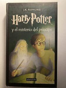 HARRY-POTTER-6-El-Misterio-Del-Principe-PRIMERA-EDICIoN-Salamandra-Tapa-Dura