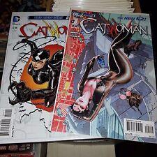 Catwoman New 52 (2011) Lot - Complete Series Set w/#s 0, 1-52, Batman