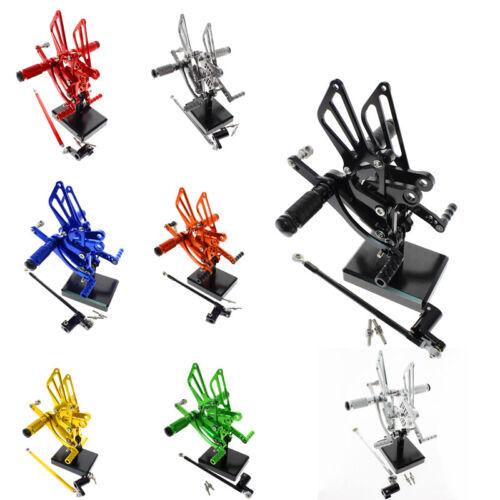 80mm For HONDA CBR300RR//CBR250R 2011-2015 CNC Rearset FXCNC Foot Pegs Pedals