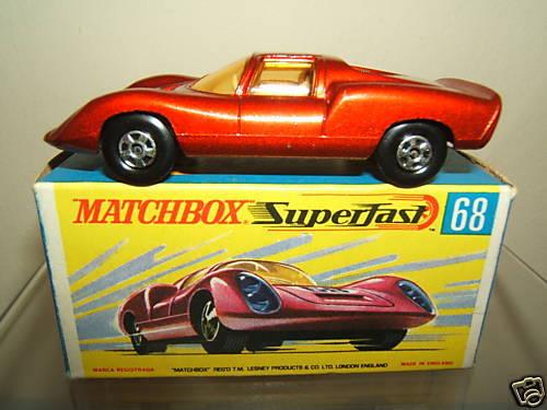 Matchbox Superfast Modelo No.68c  Porsche Porsche Porsche 910  VN MIB 69d137