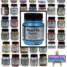 Jacquard PEARL EX - POWDER PIGMENTS - Large Bottles - Full Color Range Available