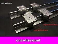 CNC Set 16x 400mm 4x Linearwagen Linearführung Linear Guide Rail  3D Fräse rosa