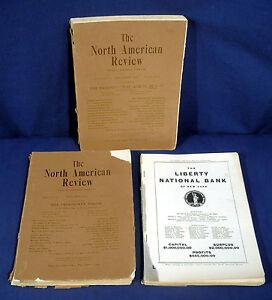 3-Antique-Magazines-The-North-American-Review-1912-1914-Literature-Politics-etc