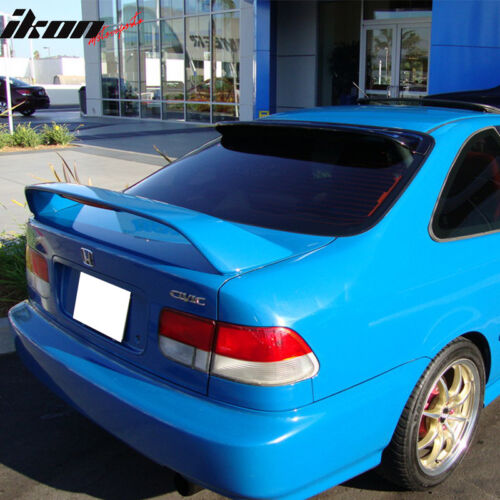 Fits 96-00 Honda Civic Coupe 2Dr EM Type R Rear Trunk Spoiler Wing ...