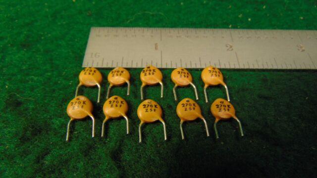 QTY 4700pf 500V 10/% Z5P CERAMIC DISC CAPACITORS D472K59Z5PLABEC MEPCO 100
