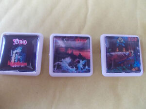 3-DIO-ALBUM-BADGES-PINS-FREE-POST-IN-THE-UK-PICTURE-IN-LISTING