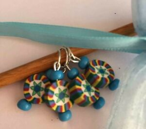 Set-of-4-Fymo-Bead-Stitch-Markers-fits-up-to-5mm-needles