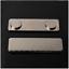 10tlg Magnetischer Namensschild-Abzeichen Identifikation-Halter-Metallkarten