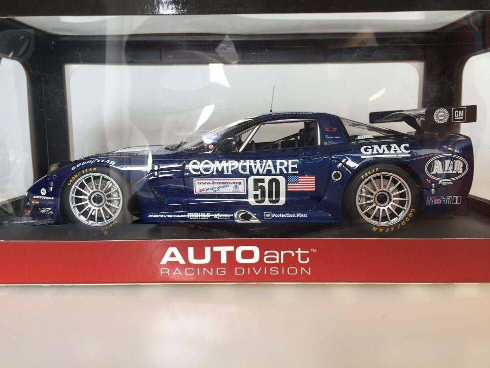 1:18 AUTOart Chevrolet Corvette C5-R 2003 24HR LeMans #50