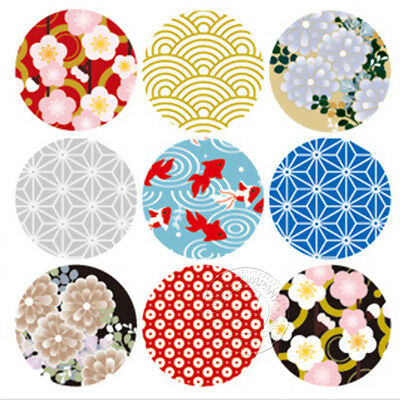 Japan Style Decorative Stickers Cute Stickers Letter Seal Stickers Popular