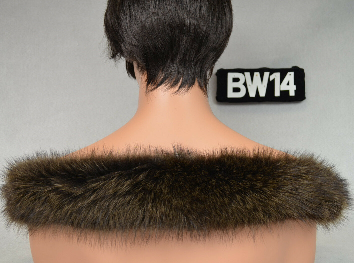 Kapuzenstreifen 55cm Pelz Fell Kapuze Schal Neu Waschbär BW14 BW14 BW14 | Neuer Stil  | Sale Düsseldorf  65260e