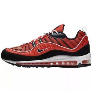 Details about NIKE AIR MAX 98 MEN'S SHOES SIZE 9 Habanero Pepper Red  640744-604
