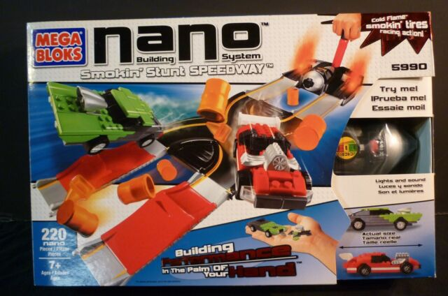 NEW MEGA BLOKS POLICE CAR NANO BUILDING SYSTEM