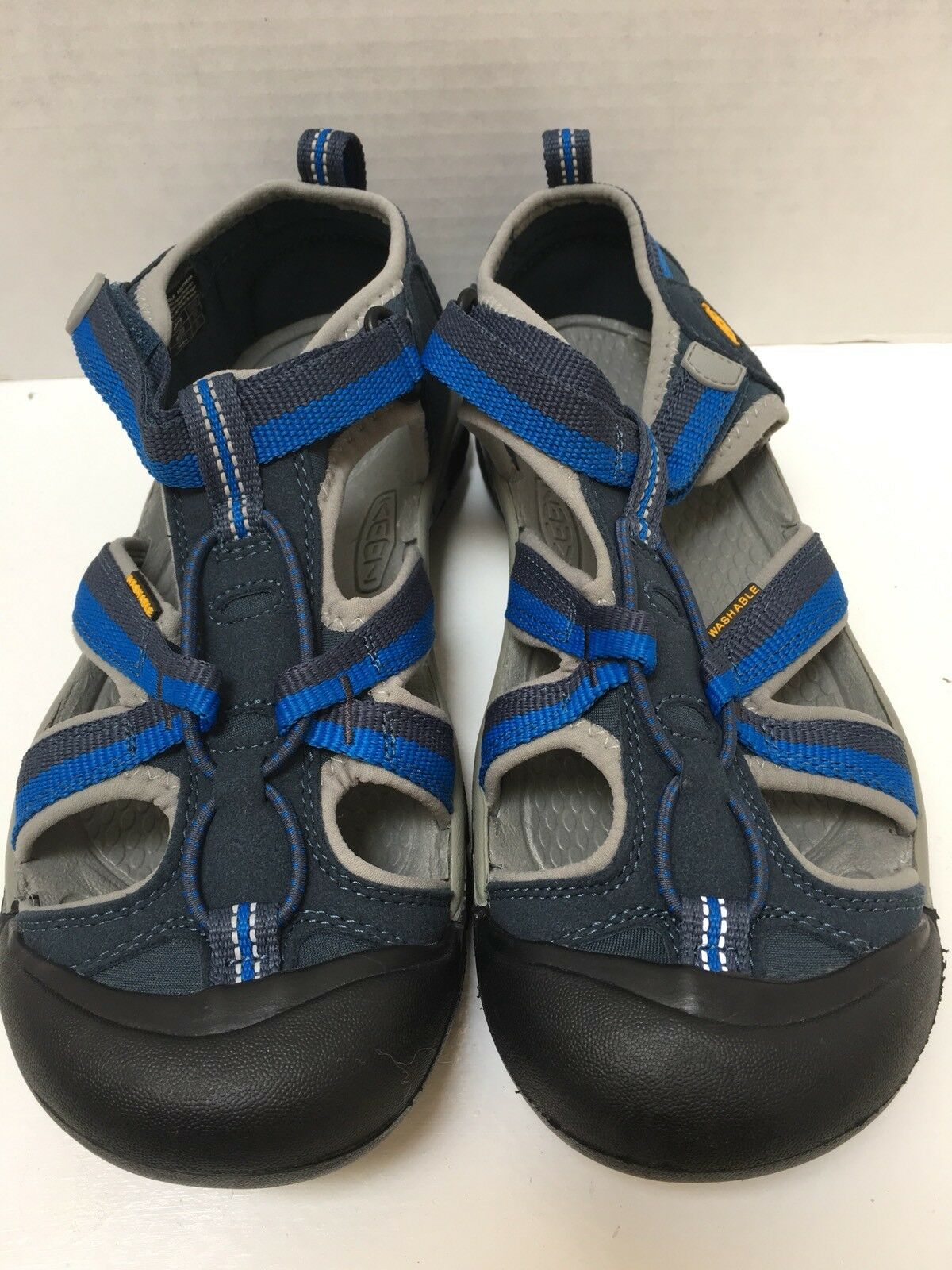 nuovo Keen Water Sport Seals Navy blu Dimensione 5 Mens 7 donna