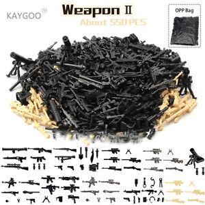 Building Blocks DIY Military Series Swat Police Gun Weapons Pack