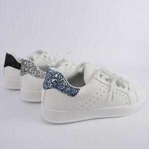 sneakers-basse-ecopelle-bianche-glitter-brillantini-scarpe-donna-ginnastica