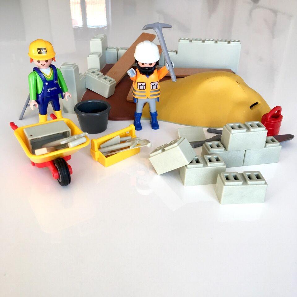 Playmobil, Byggeplads, Playmobil