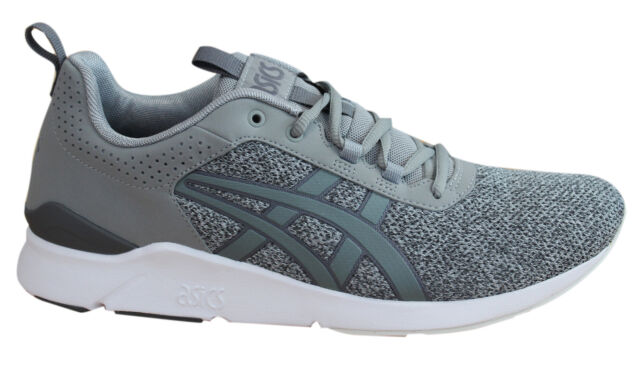 Asics Gel-Lyte Runner Mens Trainers Lace Up Shoes Grey Textile HN6F2 1313 D41