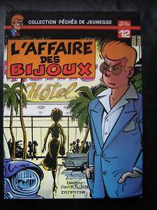 BD-felix-l-039-affaire-des-bijoux-EO-1981-TBE-pdj-n-12-tillieux