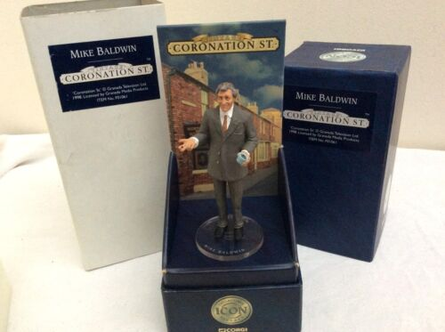 Coronation Street Mike Baldwin          BOXED CORGI ICON FIGURE