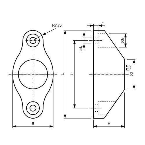 Magnetischer Türanschlag Magnet-Türstopper mit Gummipuffer hält 6 kg Neodym