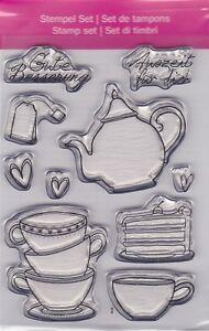Motiv-Stempel-Clearstamps-Set-10-Stueck-Tee-Kaffee-Kanne-Tassen-efco-45-112-29
