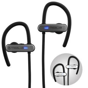 TREBLAB XR800 Bluetooth Headset Sport Headphone Wireless Earbuds IPX7 Waterproof