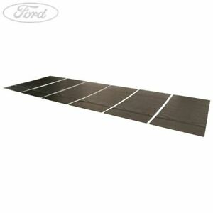 Details about Genuine Ford Sound Reducing Noise Mats Black Set Of 6 Pieces  5014857