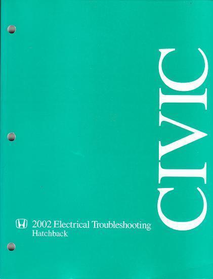 2002 Honda Civic Hatchback Electrical Wiring Diagrams
