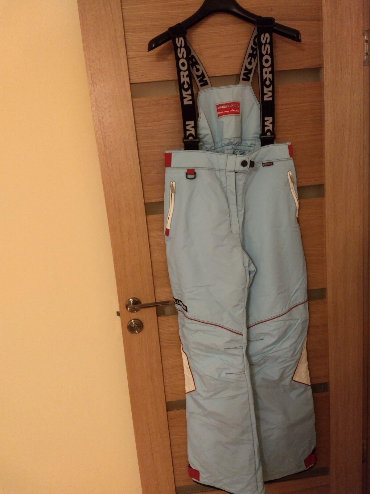 Mc Ross Ski Snowboarding Pants Trousers Salopettes Men Size 50 USED