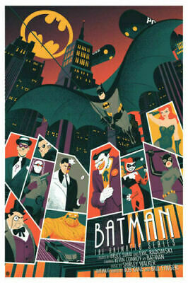 27x40 24x36 Poster Joker Batman The Animated Series Hot Comics Custom Silk G-459