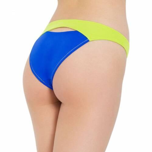 S L/'Agent by Agent Provocateur Alenya Bikini Tops M Bottoms Blue //Green XS