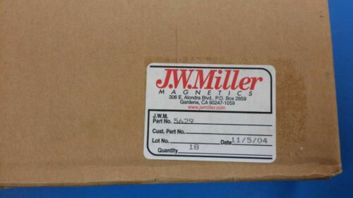 5629 JW MILLER Fixed Power Inductor 1mH 10/% RDL 2 PCS