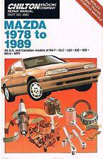 1978-1989 MAZDA RX-7, GLC, 323, 626, 929, MX-6, MPV - repair manual