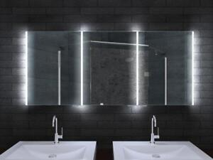 Spiegelschrank 160 Cm.Details Zu Lux Aqua Aluminium Badezimmer Spiegelschrank Mit Led Beleuchtung 80 160cm Mla