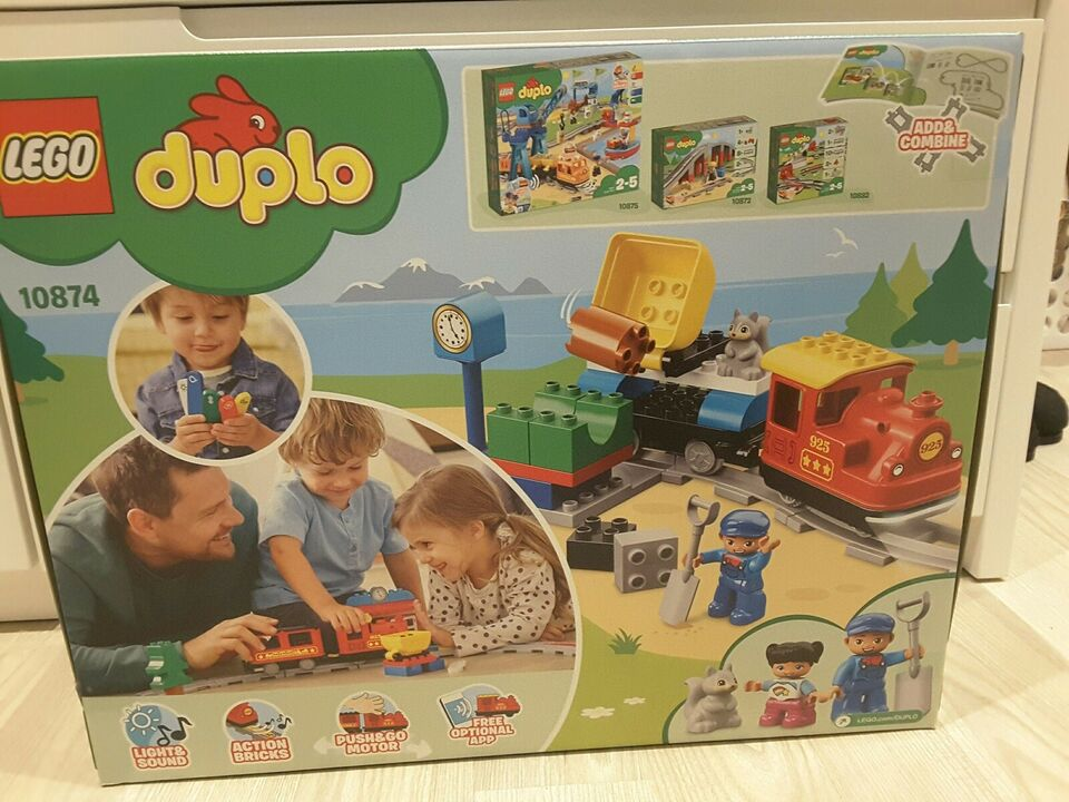 Lego Duplo, 10874 Push and go tog