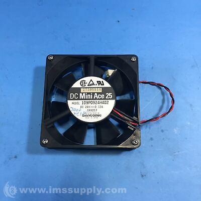Brushless Fan 24 VDC x 0.12A by RUNDA size 40x40x20 mm