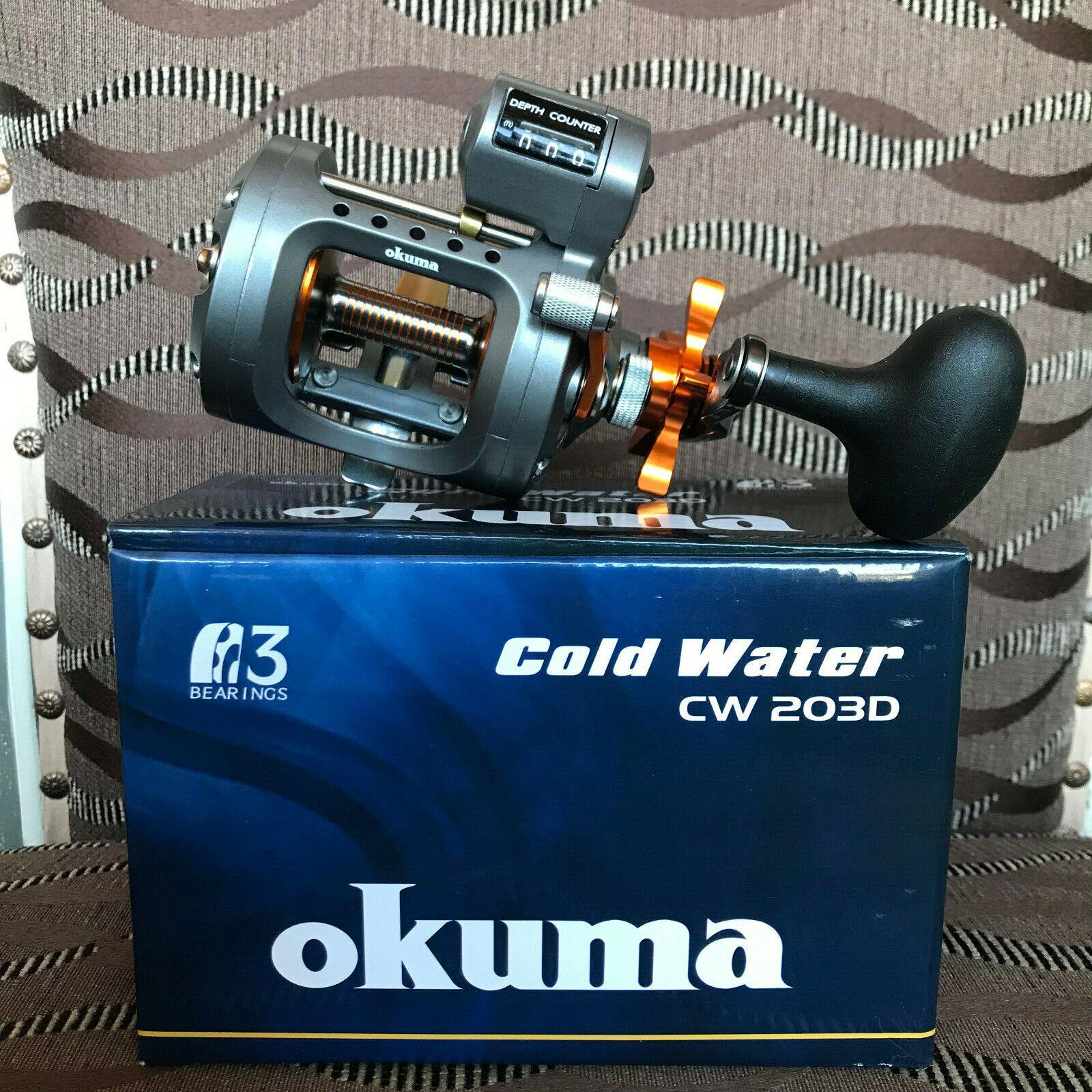 Okuma cold water cw-203d derecha mano Multi Rol