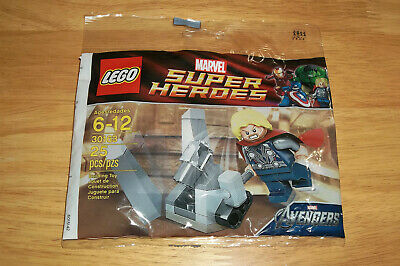 30163 BRAND NEW SEALED LEGO Super Heroes Thor and The Cosmic Cube Polybag