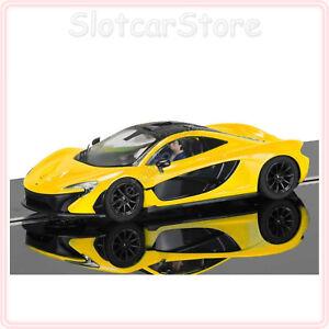 Scalextric-C3644-McLaren-P1-034-Volcano-Gelb-034-1-32-Auto-Slotcar-Licht-PCR-DPR
