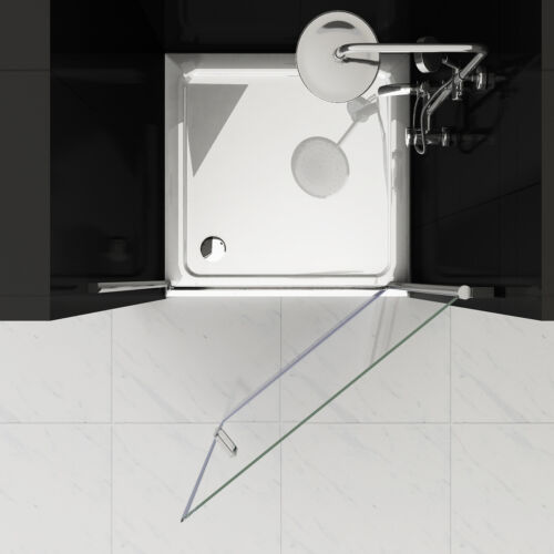 Nischentür Duschabtrennung Duschwand Dusche 180° Schwingtür NANO 75 80 90 100 cm