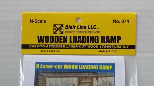 """SCALA N Blair Line /""""in legno Rampa/"""" Kit di taglio laser articolo #074"""