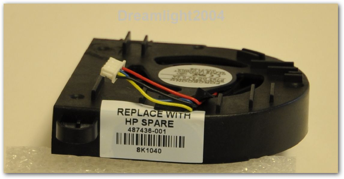 COMPAQ HP 6930 6930p EliteBook CPU COOLING FAN 487436-001 Fast shipping from USA