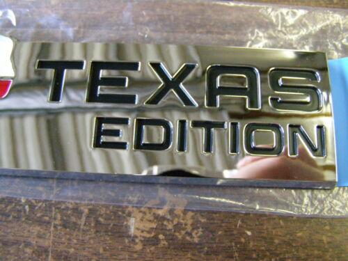 NOS Ford Texas Edition Rear Emblem F-150 Ranger Mustang Explorer Mercury Lincoln