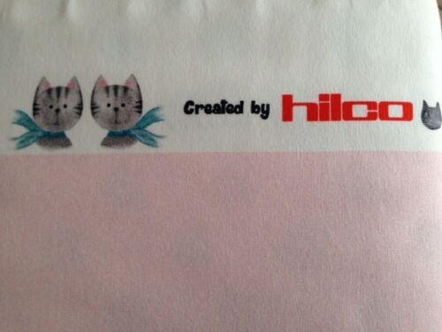 "zartrosé 150 cm br HILCO Baumwolljersey /""Cat Panel/"" € 11,00//qm ab 0,5 m"