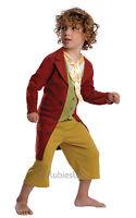 Official The Hobbit Bilbo Baggins Book Week Fancy Dress Costume 3 - 8 Years
