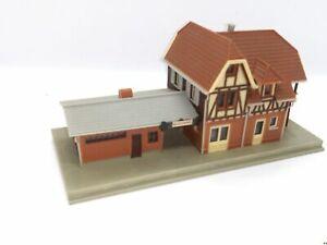 Kleiner-Bahnhof-Landbahnhof-Nebenbahnhof-BELEUCHTET-Spur-N-C952