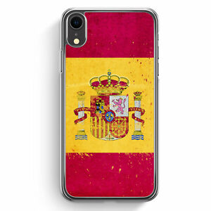 Spanien-Grunge-Espana-Spain-iPhone-XR-Hulle-Cover-Hard-Case-Handyhulle-Schutz